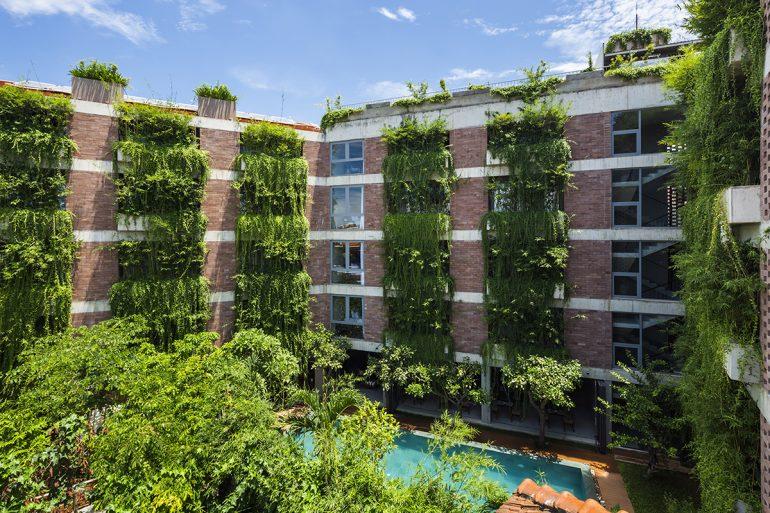 Khu nhà Hội An vào top 10 công trình xanh kỳ lạ trên thế giới