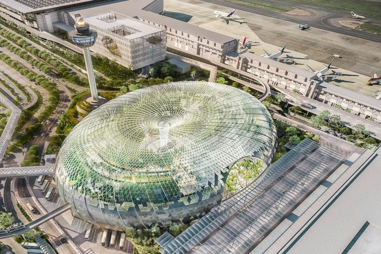 Singapore muốn biến sân bay Changi thành vườn bách thảo